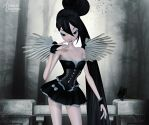 Coquettishly Charming by RavenMoonDesigns
