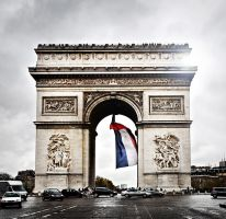 Arc de Triomphe by justinblackphotos