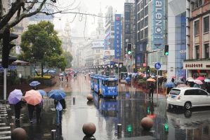 Nanjing Road by ContagiousPixie