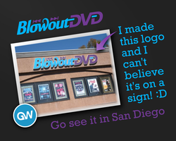 Blowout DVD logo shock by GamerWorld14