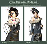 Draw this Again Meme by ChibiTaryn