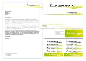 Brawn GP Re-Brand Stationery by NineteenPSG