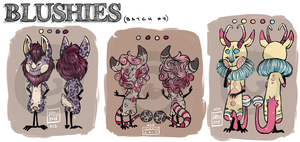 [CLOSED] Blushies! Points and Paypal Auction by Jarfly