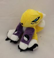 Digimon - Renamon beanie customplush by Kitamon