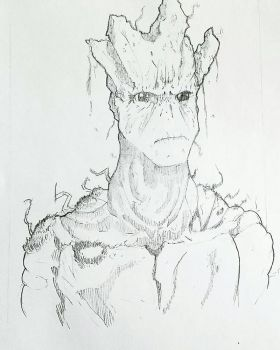 Groot by ravenclawtom