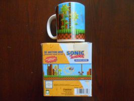 Sonic 3D Motion Mug by BoomSonic514