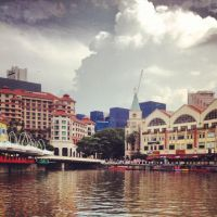 Singapore River by Sweetybee