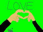 r5 hand heart thing by ronirene