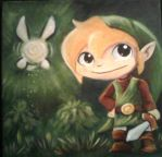 Link painting by crystachick