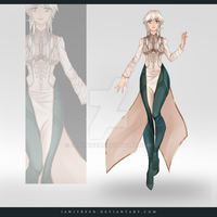 (CLOSED) Adoptable Outfit Auction 242 by JawitReen