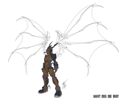 Bahamut Knight Concept Color by GunZcon