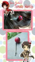 APH- Spain's Tomato Hairclip by Moonfire95