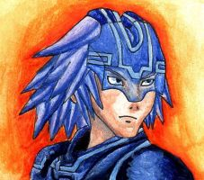 Riku (The Grid) by AxelFlame8
