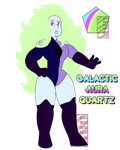Galactic Aura Quartz by BotCp