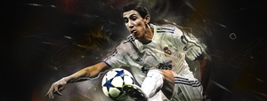 Di Maria - Real Madrid by soccerGFX-it