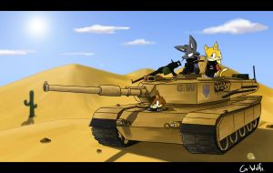 Chillin' in a Tank by G-Wolfe