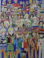 This is Hetalia by IkexPitFore by 100ThemesChallenge