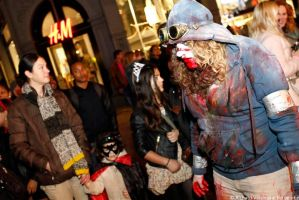 Amsterdam Halloween Parade Hunters - Missus Hunter by Owlbites