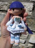Amigurumi Angel Stocking by periwinkleimp