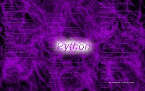 Wallpaper Python Programming by artgh