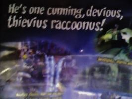 He's one Cunning, Devious, Thievius Raccoonus! by Master-Cooper-Fan101