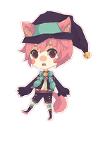 OC :: Cat Mage by ppodori