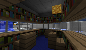 Crystaltop: Library by TheKagestar