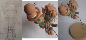 Rocket girl Tristana wip by JOPUTAPELIRROJO