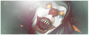 Scary Clown Sig by aberzoner