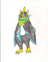 Dan the Empoleon by pandabear0223