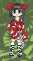 Touhou OC contest:Meushi Niiro by Charlotte-Chan