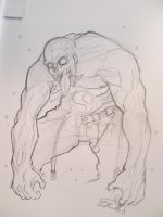 Muscular zombie by shiprock