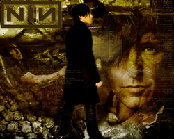 Trent Reznor NIN Wallpaper 1 by iamjacksrum