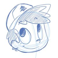 Chibi Dipper Headshot by LeniProduction
