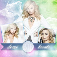PNG Pack(101) Demi Lovato by blacktoblackpngs
