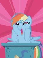 Rainbow Dash's Awesome Face by o0VinylScratch0o