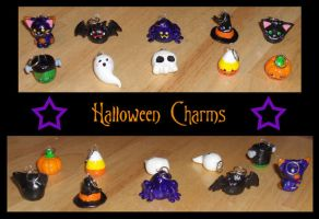 Halloween Charms by Geisha-Neko
