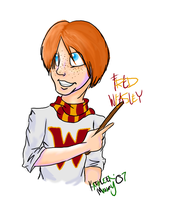 HP-Fred Weasley by Morein
