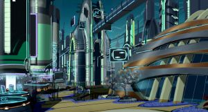 Ratchet and Clank - Meridian City by rmohr