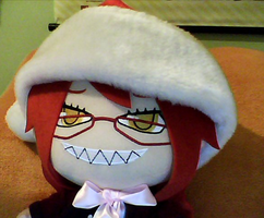 Grell plush by MissImTheHero