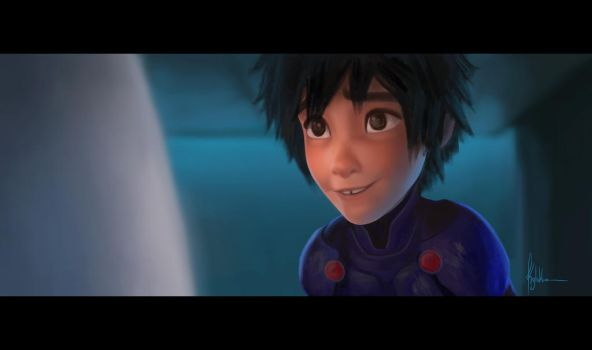 Screenshot study 1 - Big Hero 6 by kylukia
