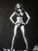 FAKE stencil gisele by fakestencils