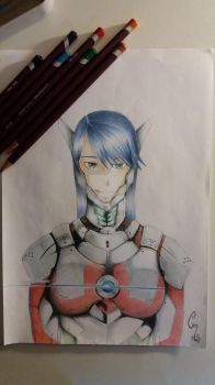 Ultraman-girl by Prunel-M