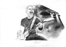 Metallica Hetfield by taker91