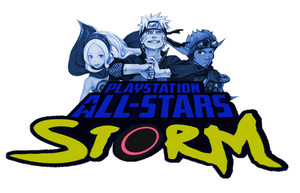 PlayStation All-Stars Storm: New Logo by LeeHatake93
