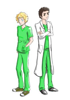 Doctors Mac and Secretan by Linka-Neo