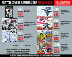 New Sketch Covers commission INFO by mdavidct