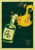 Peace and fire by Felipefr