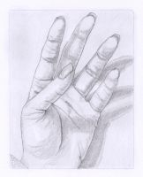 Left hand study by AdriennEcsedi