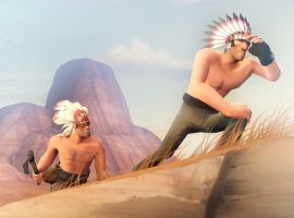 Native Americans by MrRiar
